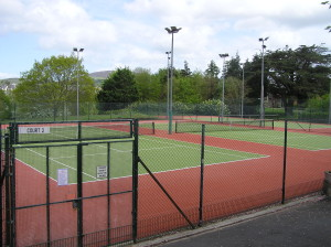 Image of tennis courts