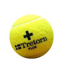 Yellow Tretorn ball