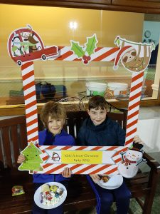 Juniors christmas fun day photo""