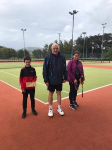Junior doubles league winners