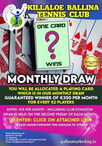 One Card Wins Draw